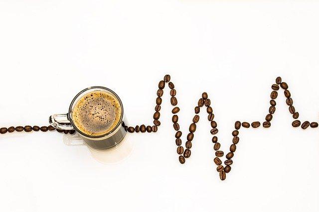 Srdeční tep s kávou