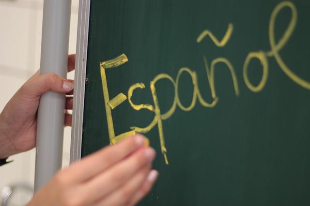 výuka, španělština