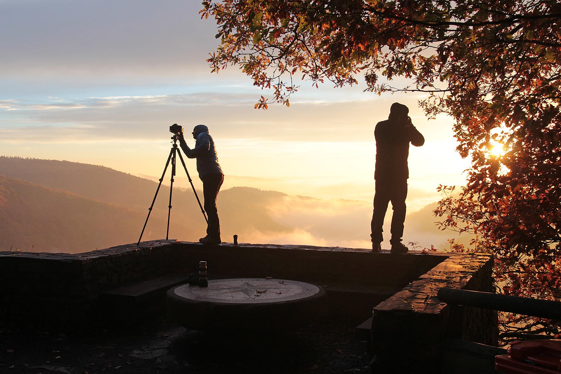 fotografové v přírodě